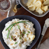 Porter Caramelized Onion Dip | foodiecrush.com