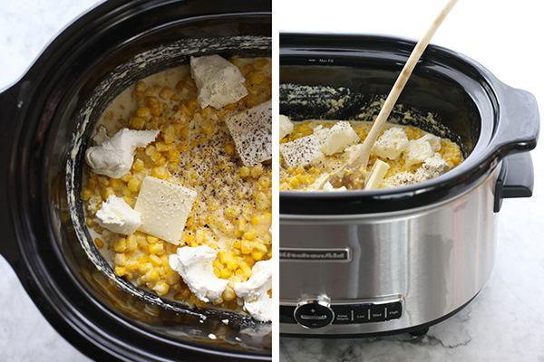 how to make creamed corn in the slow cooker