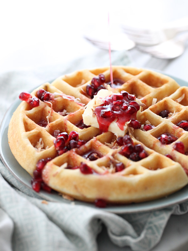 how to make fruit syrup for waffles