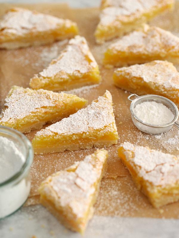best lemon bars on parchment paper