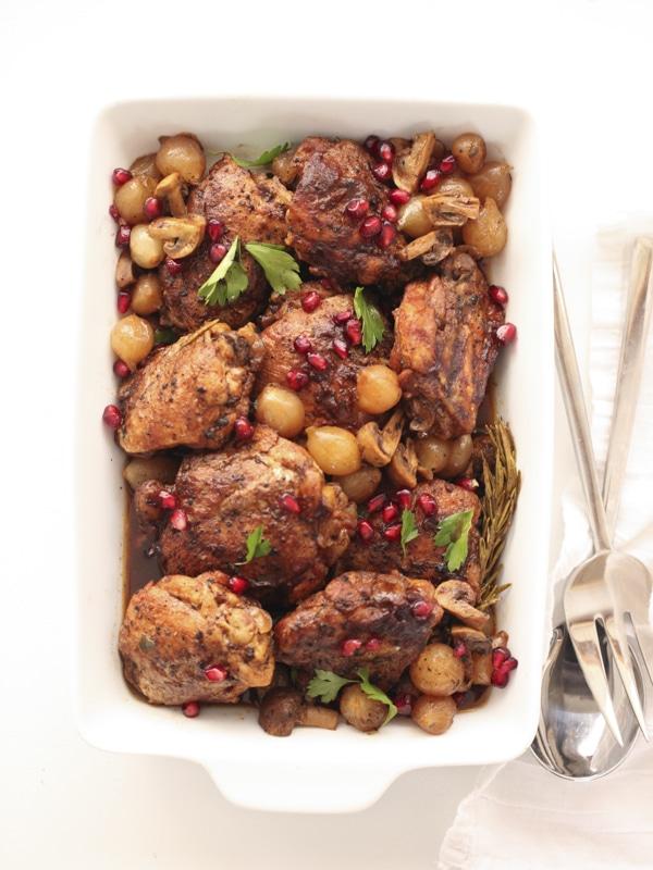 Slow Cooker Balsamic Chicken | foodiecrush.com