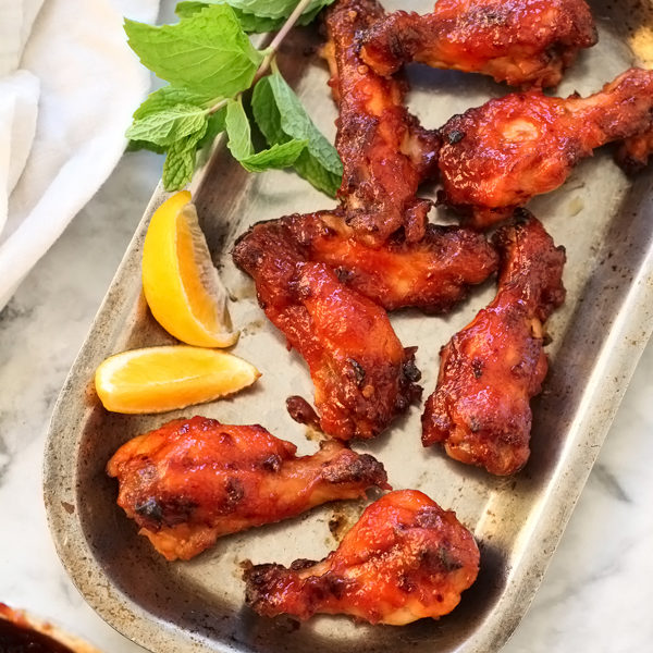 Chipotle Honey Baked Chicken Wings