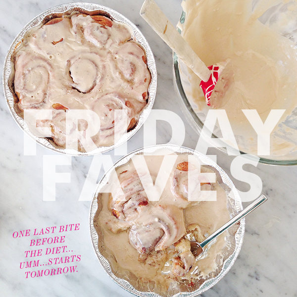 Friday Faves FoodieCrush 01-03-14