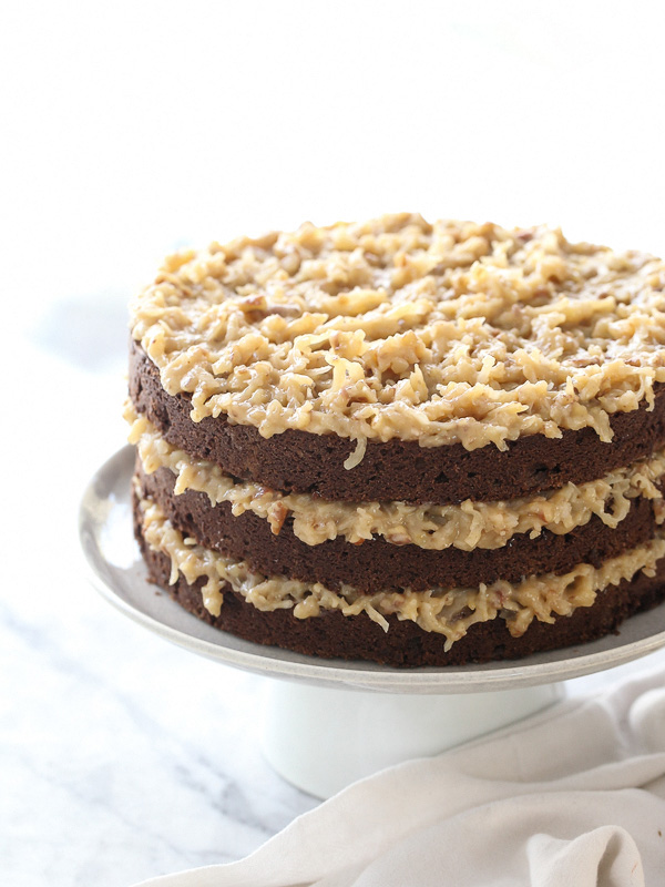 Terrific My Favorite German Chocolate Cake Recipe Foodiecrush Com Funny Birthday Cards Online Hendilapandamsfinfo