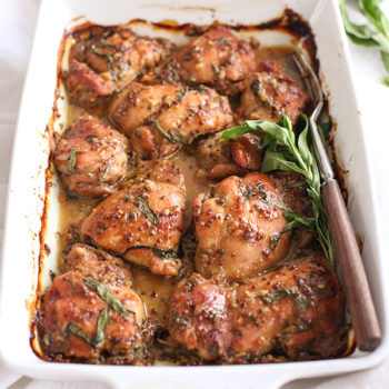 Honey Mustard Chicken is one of my favorite chicken thigh recipes