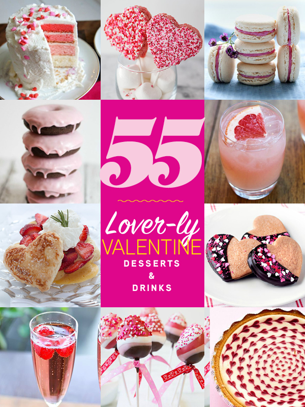 55 Valentine S Day Desserts And Drinks Foodiecrush Com