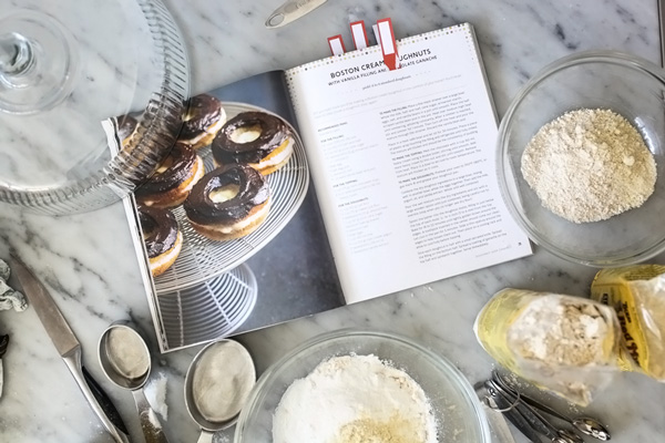 Gluten-Free Boston Cream Doughnuts