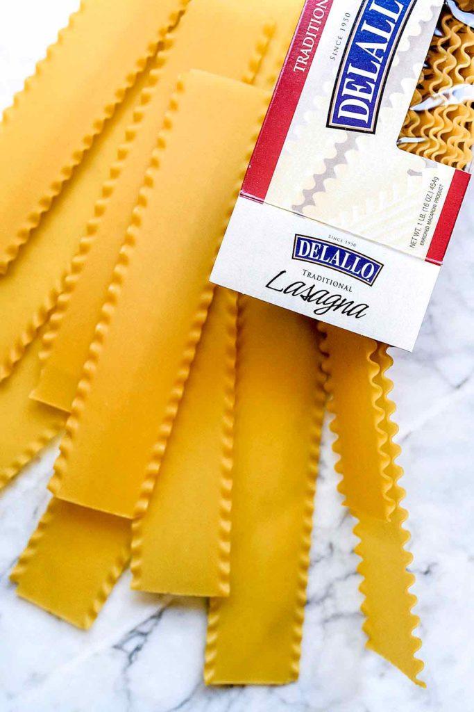 DeLallo Lasagna noodles | foodiecrush.com