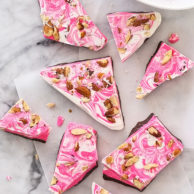 Spicy Chocolate Bark with Chipotle and Almonds