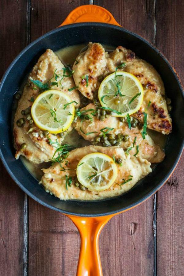 Chicken Piccata II Red Shallot Kitchen
