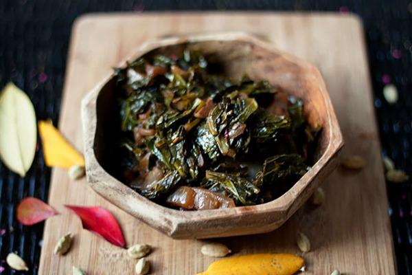 Ethiopian Spiced Collards (Gomen Wat) II Will Frolic for Food