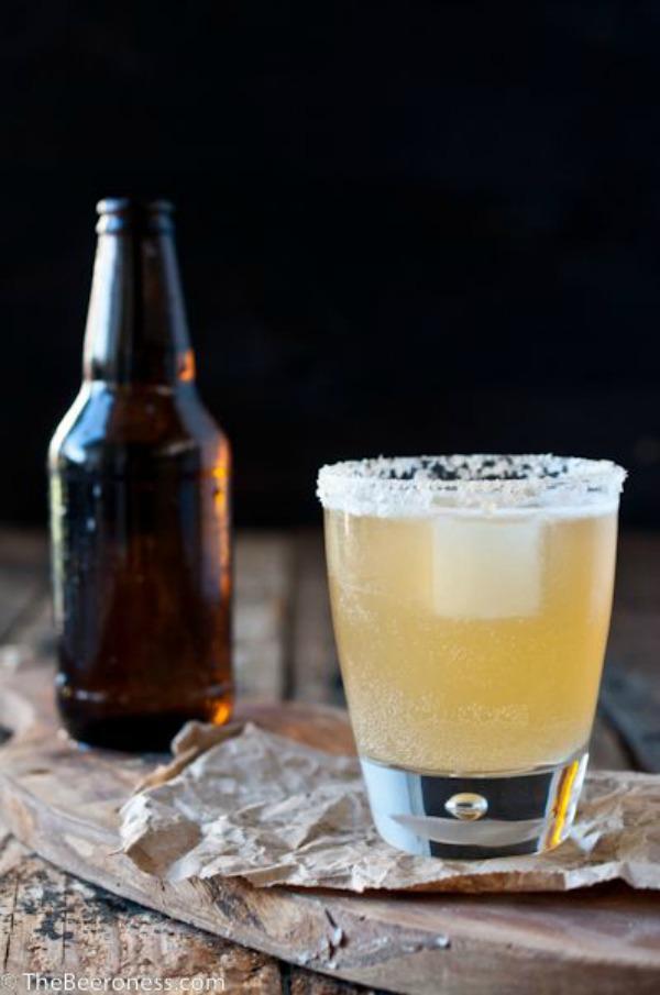 Golden Ale Beer Cocktail II The Beeroness