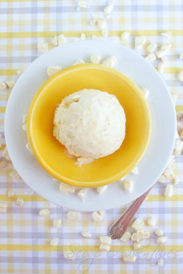 Sweet Corn Ice Cream II Scoop Adventures