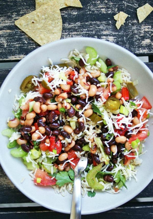 Texas Caviar Rice & Beans II A Nutritionist Eats