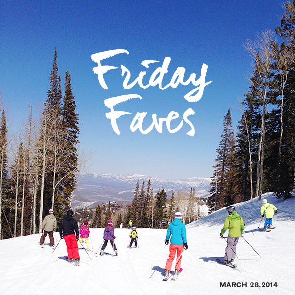 Friday Faves 03-27-2014 Skiing Deer Valley