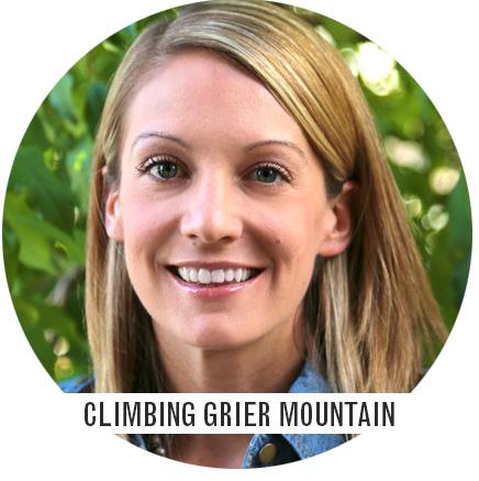 Climbing Grier Mountain