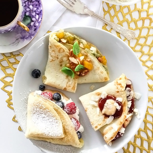 Savory and Sweet Crepes foodiecrush.com