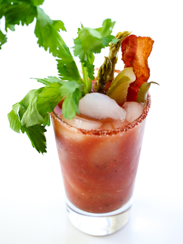 the best bloody mary cocktail with garnishes