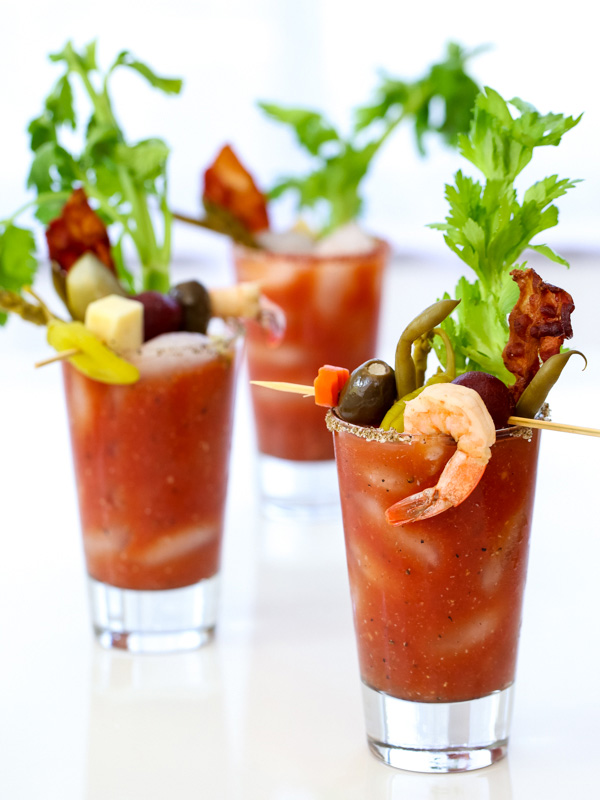The Best Bloody Mary Recipe Diy Bloody Mary Bar Foodiecrush