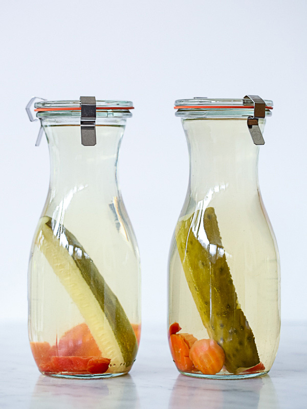 Pickle Infused Vodka for homemade bloody marys
