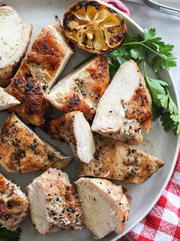 Best Grilled Chicken Breast Recipe on foodiecrush.com