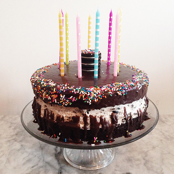 Oreo Chocolate Cake foodiecrush.com