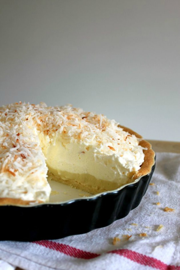 Coconut Cream Pie from Oh Sweet Day! on foodiecrush.com