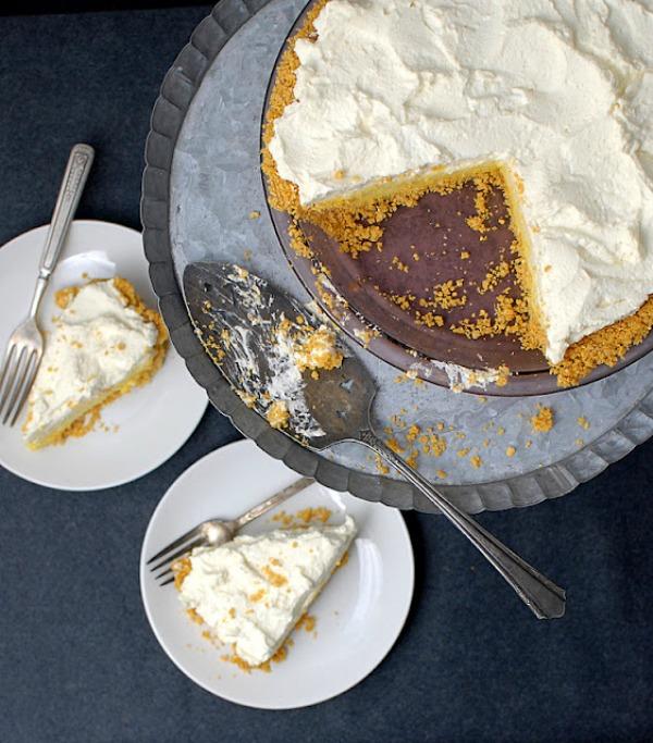 Lemon Chiffon Pie II Boulder Locavore on foodiecrush.com