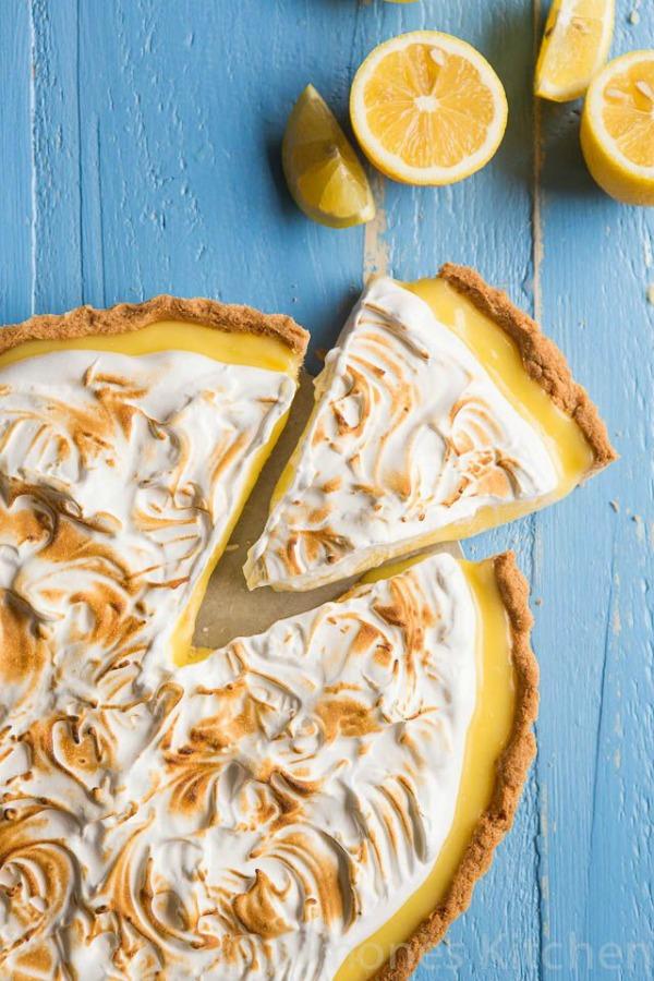 Lemon Meringue Pie from Simone's Kitchen on foodiecrush.com