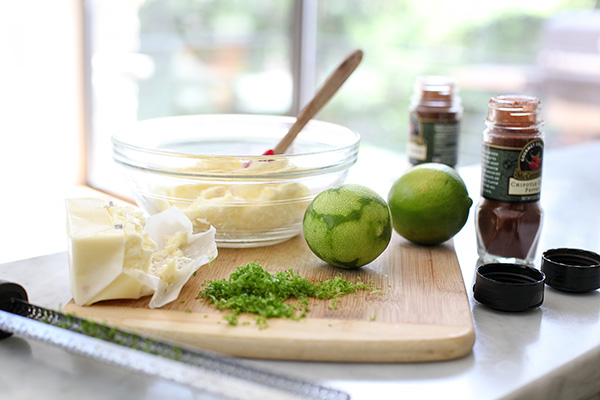 Lime and Chile Butter #recipe on foodiecrush.com
