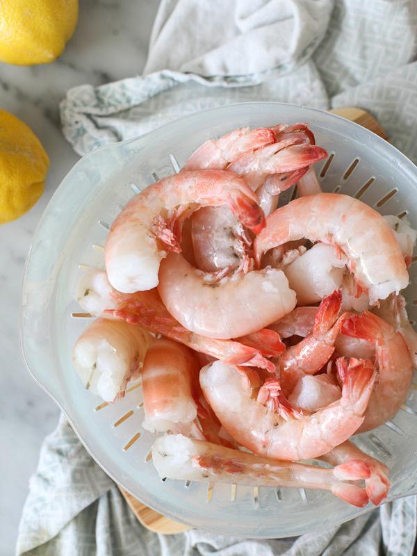 Peel n Eat Beer Steamed Shrimp #recipe on foodiecrush.com