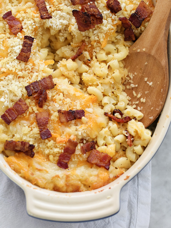 Obsessed With Cheese Mac n Cheese foodiecrush.com
