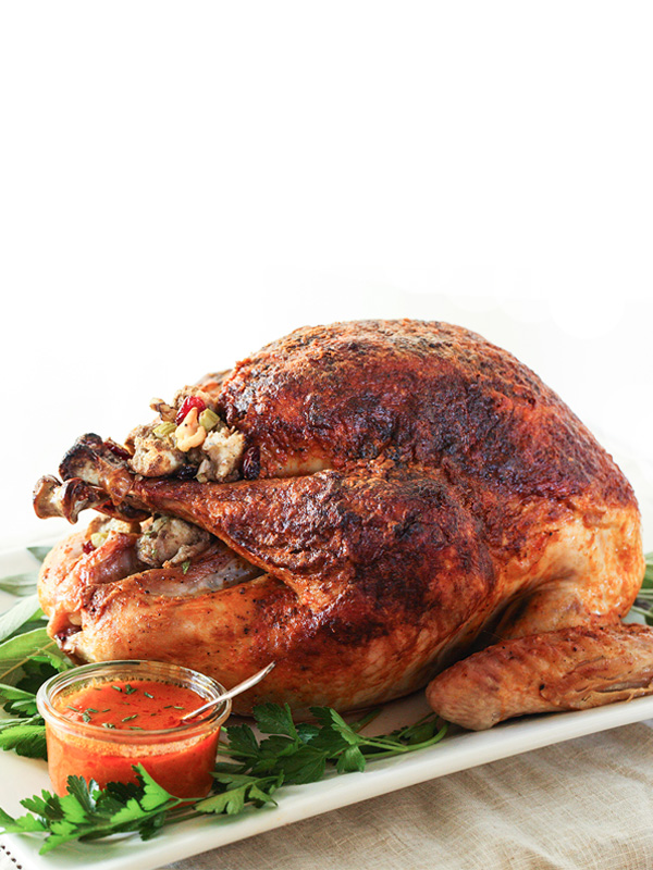 Buffalo Oven Roasted Turkey Recipe Foodiecrush Com