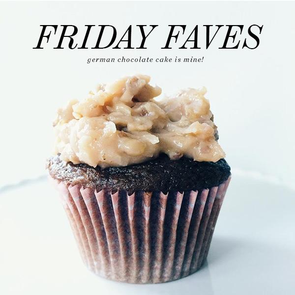 Friday-Faves-Cupcake