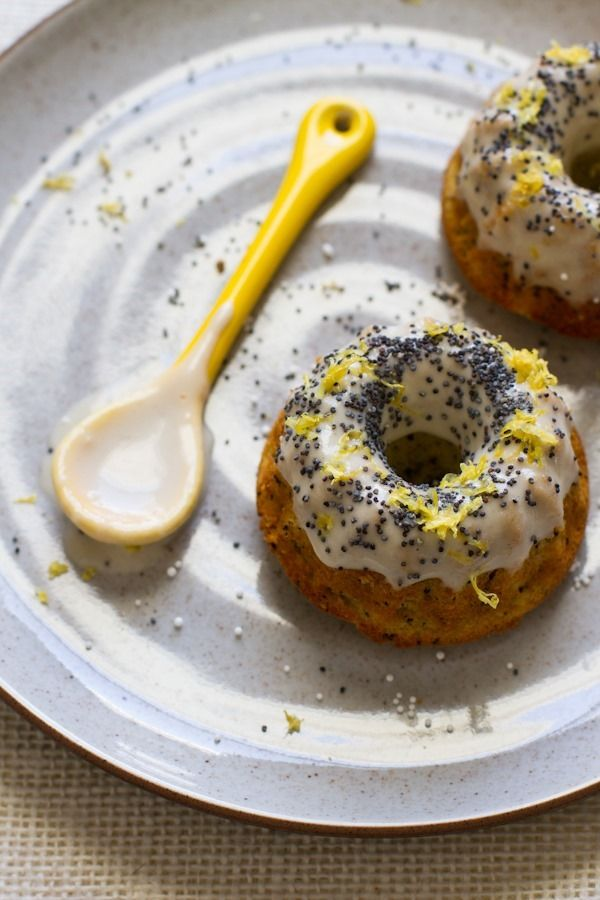 Lemon Poppyseed Mini Cakes from edibleperspective.com on foodiecrush.com