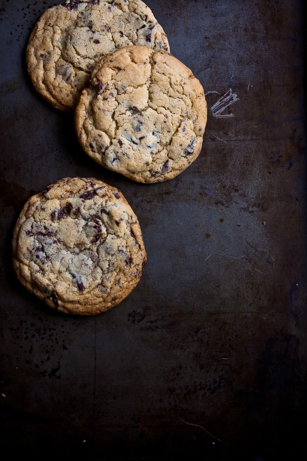 The Absolute Best Ever Chocolate Chip Cookie from Hint of Vanilla featured on foodiecrush.com