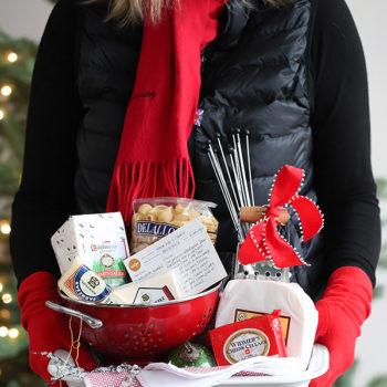 Artisan Mac and Cheese Gift Basket foodiecrush.com