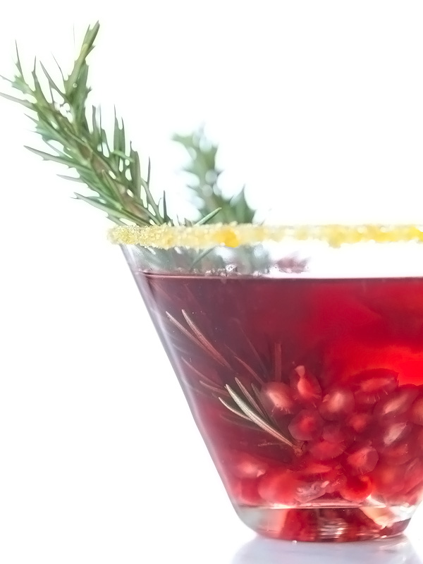 Pomegranate Martini | foodiecrush.com #recipe #vodka #oprah