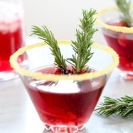 Pomegranate Martini foodiecrush.com