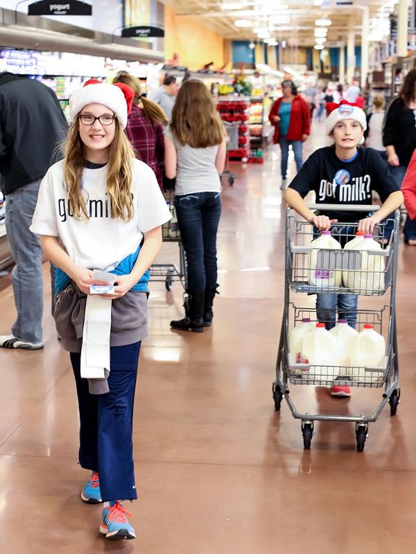 Santas Milk Drive Great American Milk Drive | foodiecrush.com