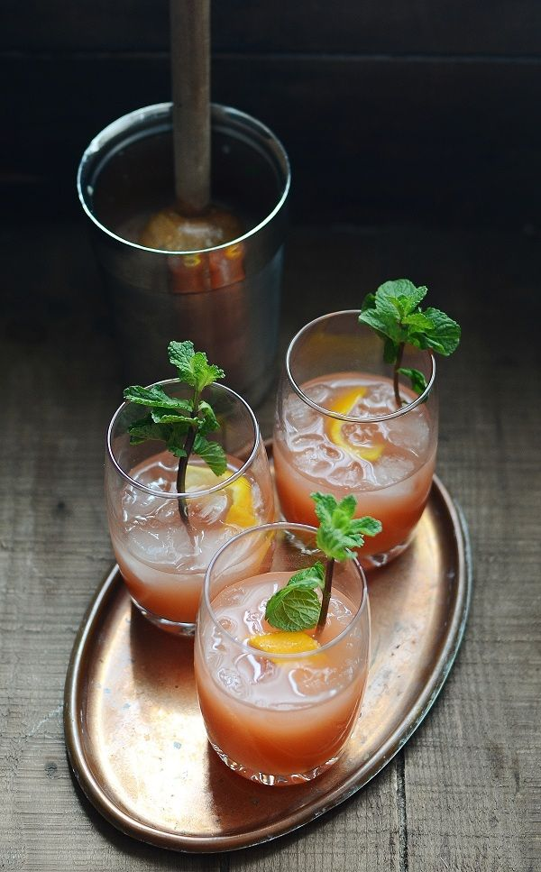 Spiced Orange Crunk Punch from versesfrommykitchen.com on foodiecrush.com