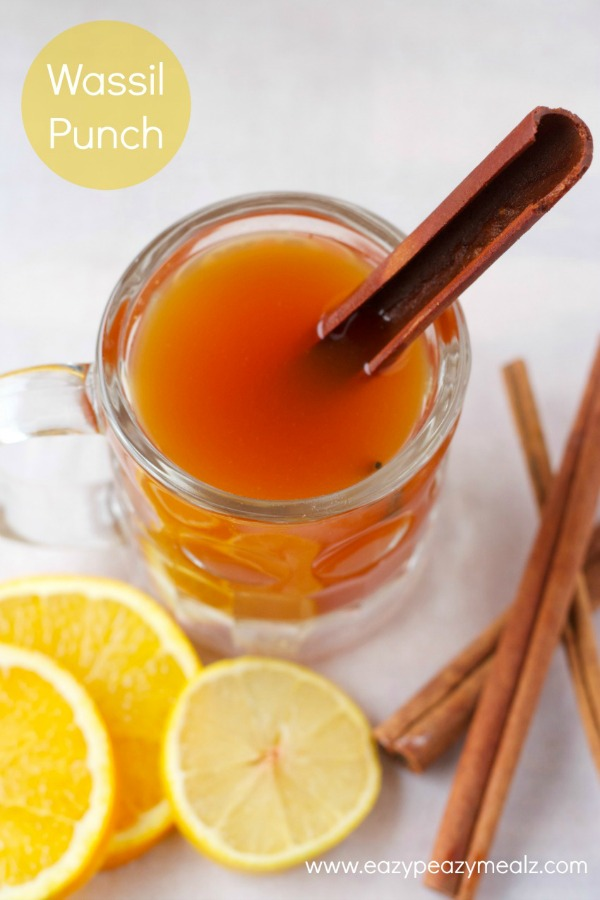 Wassail Punch from eazypeazymealz.com on foodiecrush.com
