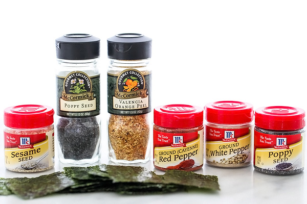 spices meant for japanese rice bowl