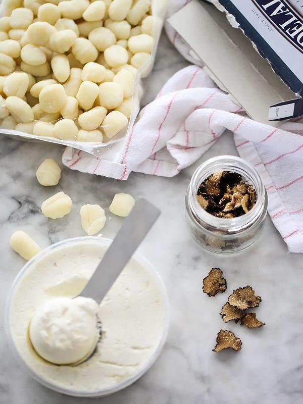 Truffled Gnocchi Mac and Cheese | foodiecrush.com
