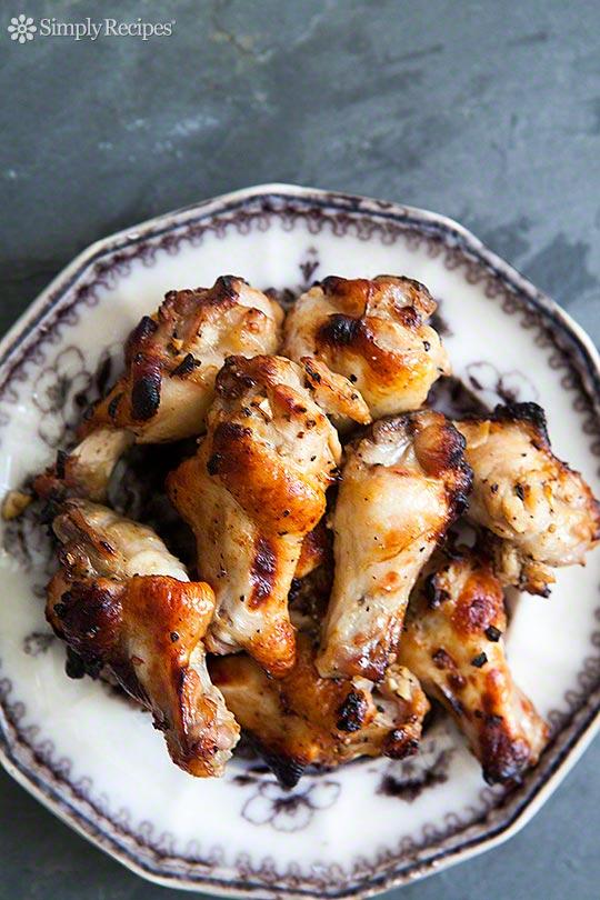 Honey Mustard Chicken Wings | simplyrecipes.com