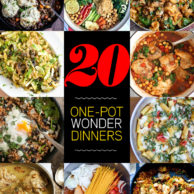 20 One Pot Wonder Dinners | foodiecrush.com