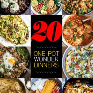 20 One Pot Wonder Dinners | foodiecrush.com