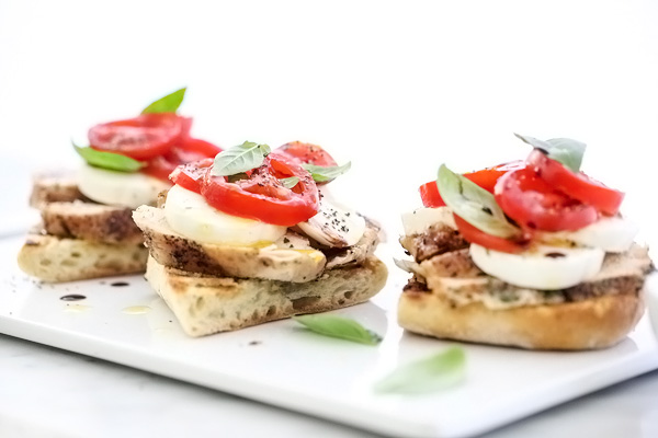 Grilled Chicken Caprese Sandwich
