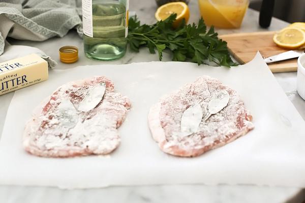 Scallopini de porc |  foodiecrush.com