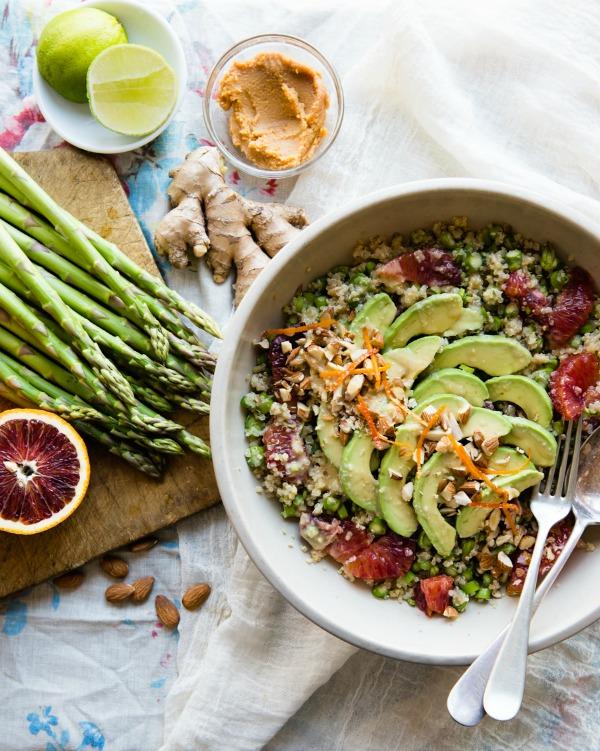 Blood Orange Asparagus Salad Eat Seasonal